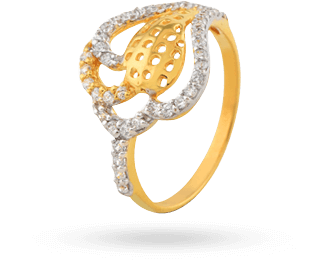 Finessse Interactive's client - araanz diamond & gold ring